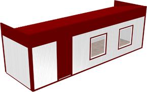 Вагон-бытовка 2,4х8х2,3м (Премиум)