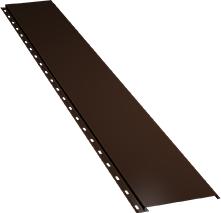 Гладкая узкая фасадная панель 0,5 мм, Ral 8017