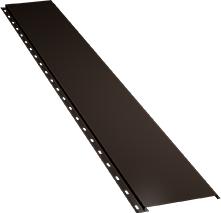 Гладкая узкая фасадная панель 0,5 мм, Ral 8019