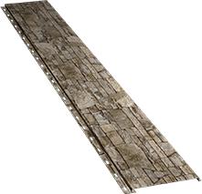 Гладкая узкая фасадная панель 0,5 мм, Fine stone
