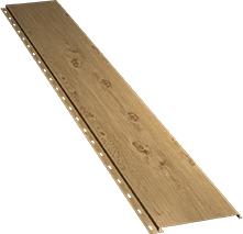 Гладкая узкая фасадная панель 0,5 мм, Log