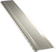 Узкая с мелкой волной фасадная панель 0,5 мм, Ral 1015