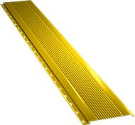 Узкая с мелкой волной фасадная панель 0,5 мм, Ral 1018