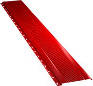 Узкая с мелкой волной фасадная панель 0,5 мм, Ral 3003
