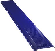 Узкая с мелкой волной фасадная панель 0,5 мм, Ral 5002