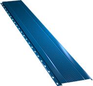 Узкая с мелкой волной фасадная панель 0,5 мм, Ral 5005