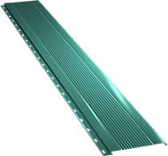Узкая с мелкой волной фасадная панель 0,5 мм, Ral 5021