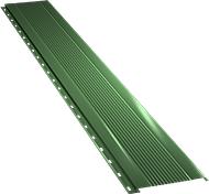 Узкая с мелкой волной фасадная панель 0,5 мм, Ral 6002