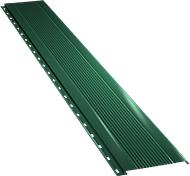 Узкая с мелкой волной фасадная панель 0,5 мм, Ral 6005