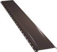 Узкая с мелкой волной фасадная панель 0,5 мм, Ral 8017