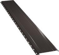 Узкая с мелкой волной фасадная панель 0,5 мм, Ral 8019