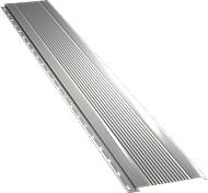 Узкая с мелкой волной фасадная панель 0,5 мм, Ral 9002
