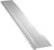 Узкая с мелкой волной фасадная панель 0,5 мм, Ral 9003