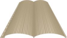 Блок-хаус 0,5 мм, Ral 1014
