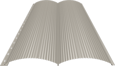 Блок-хаус 0,5 мм, Ral 1015