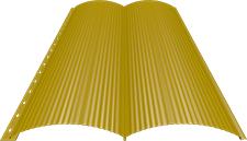 Блок-хаус 0,5 мм, Ral 1018