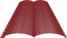 Блок-хаус 0,5 мм, Ral 3003