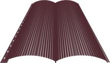 Блок-хаус 0,5 мм, Ral 3005