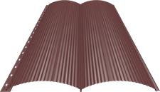 Блок-хаус 0,5 мм, Ral 3009