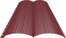Блок-хаус 0,5 мм, Ral 3011