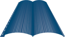 Блок-хаус 0,5 мм, Ral 5005