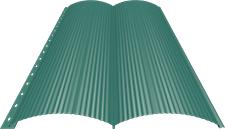 Блок-хаус 0,5 мм, Ral 5021