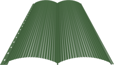 Блок-хаус 0,5 мм, Ral 6002