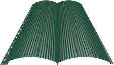 Блок-хаус 0,5 мм, Ral 6005