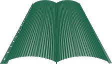 Блок-хаус 0,5 мм, Ral 6026