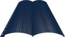 Блок-хаус 0,5 мм, Ral 7024