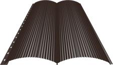 Блок-хаус 0,5 мм, Ral 8017