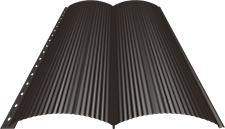 Блок-хаус 0,5 мм, Ral 8019