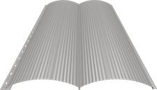 Блок-хаус 0,5 мм, Ral 9002
